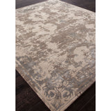 Connextion Collection Versailles Rug in Turtledove & Aluminum