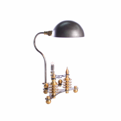 Chez Industrial Style Table Lamp Side