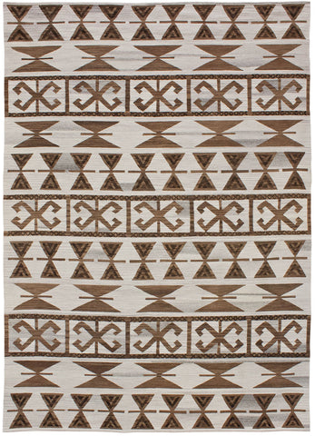 Flatweave Collection Andalusian Rug in Cocoa Ver. 1