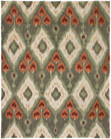 Flatweave Collection IKAT 6 Rug