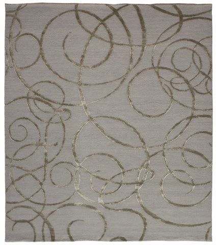Nouveau Collection Gratia Rug in Pewter