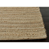 Himalaya Collection Canterbury Rug in Tan & Snow White by Jaipur