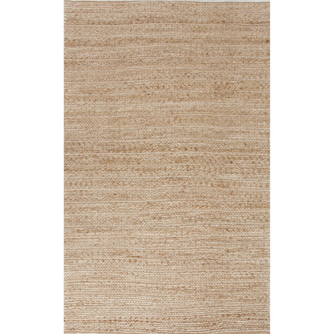 Himalaya Collection Clifton Rug in Warm Sand & Snow White by Jaipur