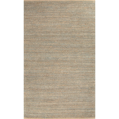 Himalaya Collection Diagonal Weave Rug in Deep Jungle & Almond Bluff by Jaipur