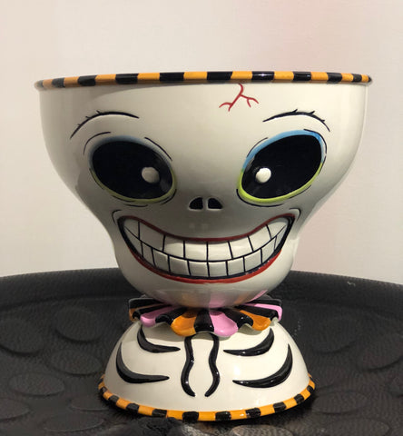 Halloween Skeleton Bowl