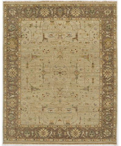 Jagapatti Collection Borlu Rug in Beige/Chestnut