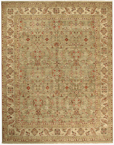 Jagapatti Collection Ferrahan Rug in Light Green/Cream