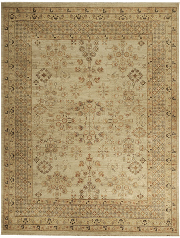 Jagapatti Collection Khotan Rug in Cream/Beige