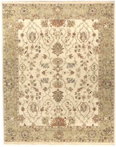 Jagapatti Collection Lilihan Rug in Cream/Gold