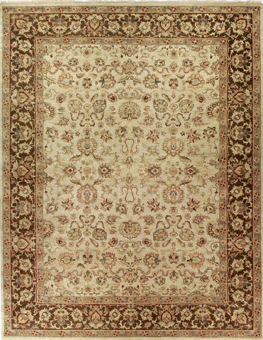 Jagapatti Collection Mahal Rug in Cream/Mocha