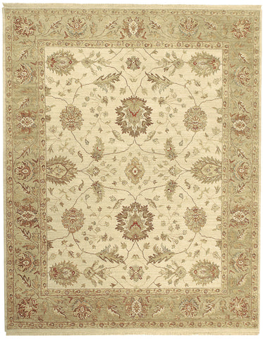 Jagapatti Collection Oushak Rug in Cream/Fawn
