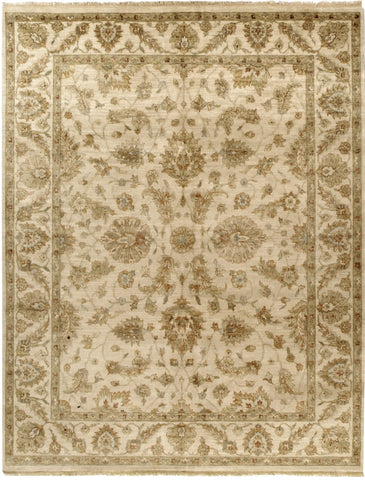 Jagapatti Collection Polonaise Rug in Cream/Cream