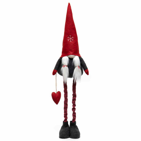 GNOME WITH SNOWFLAKE HAT & HEART