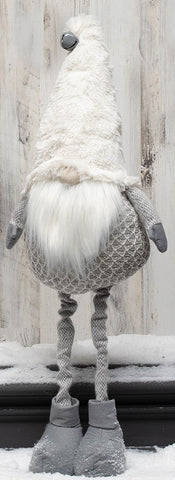 EXPANDABLE SWEATER GREY & WHITE GNOME