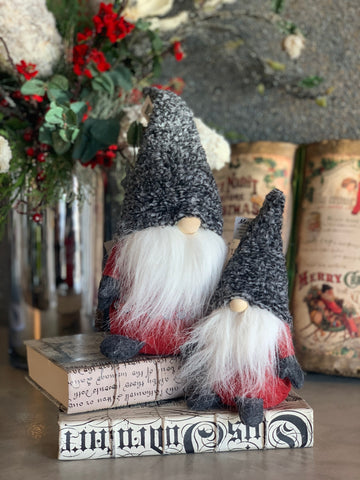 SET OF 2 VIKING GNOMES