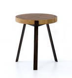 EXETER END TABLE-BLONDE GUANACASTE