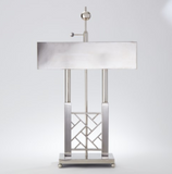 Carter Desk Lamp - Nickel