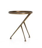 SCHMIDT ACCENT TABLE-RAW BRASS