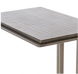 ACID ETCH C TABLE-ANTIQUE NICKEL