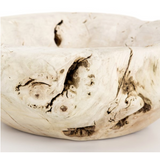 ECLAIMED WOOD BOWL-IVORY