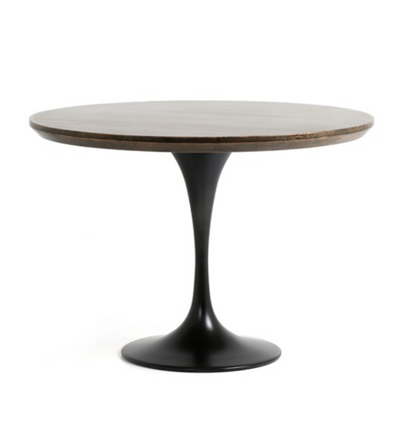 POWELL BISTRO TABLE-ENGLISH BROWN OAK