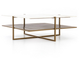 OLIVIA SQUARE COFFEE TABLE