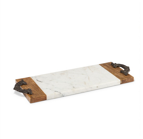 Antiquity Cutting/serving board- small rectagular