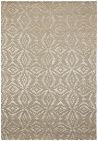 Nouveau Collection Thistle Rug in Almond
