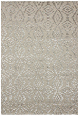 Nouveau Collection Thistle Rug in Stone