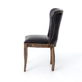 Richmond Dining Chair-Old Saddle Black/Weathered Oak