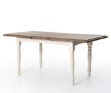 "CORNWALL EXTENSION DINING TABLE 55""/71''"