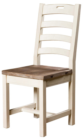 CORNWALL LADDER BACK DINING CHAIR-SA/SW