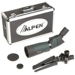 Alpen 20-60x80 Angled Body Waterproof Spotting Scope Kit