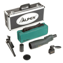 Alpen 18-36x60 Straight Body Waterproof Spotting Scope Kit