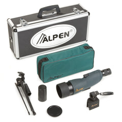 Alpen 15-45x60 Straight Body Waterproof Spotting Scope Kit