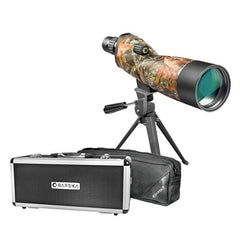 Barska 20-60x60 Blackhawk Waterproof Spotting Scope - Mossy Oak BreakUp Camo