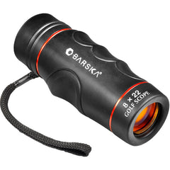 Barska 8x22 Blueline Waterproof Monocular Golf Scope with Rangefinder Reticle