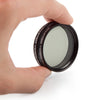 Zhumell 2 inch Variable Polarizing Telescope Filter #3 35-40% Transmission