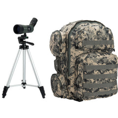 Celestron LandScout 10-30x50 Spotting Scope Backpack Kit