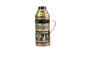 Shishagear Egyptian Shisha Wind Cover Gold Black