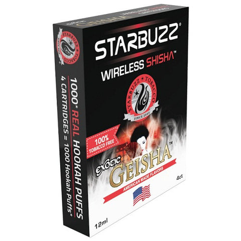 Starbuzz Geisha E-Hose Cartridge 4 Pack