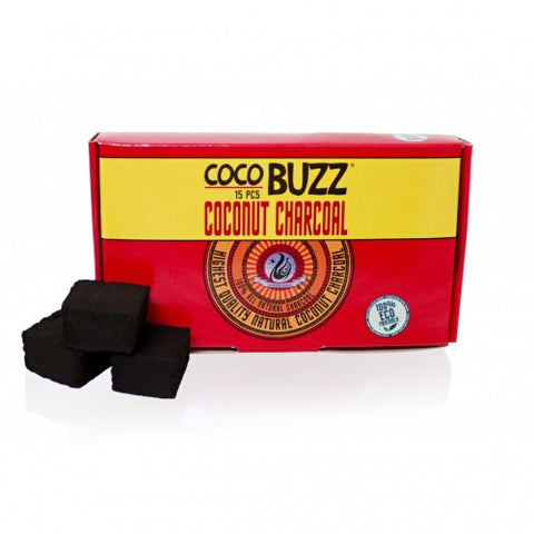 Starbuzz Cocobuzz 1.0 Natural Coconut Shisha Charcoal 15pcs