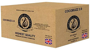 Starbuzz Cocobuzz 2.0 Natural Coconut Charcoal Lounge Pack (10kg)