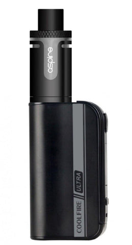 Innokin Coolfire Ultra TC150 with Aspire Cleito Exo Tank (Tpd Compliant) - Black