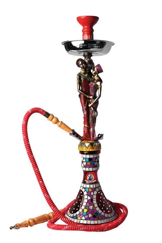 Starbuzz African Hookah Hand Painted Shisha 27 inch