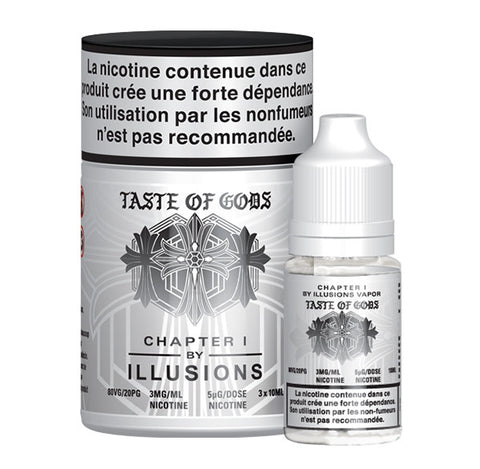Illusions Vapor - Taste of Gods E-Liquid