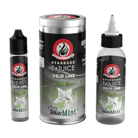 Starbuzz E-Juice Drip Line White Mint 120ml