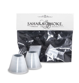 Sahara Smoke Rubber Bowl Grommets - Set of 2