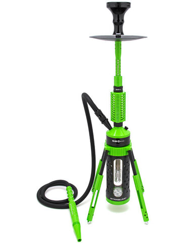Starbuzz Carbine Shisha Kit with NAR Heat Management Head - Zombie Green
