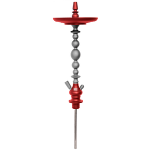 Starbuzz USA Atlantis Shisha Stem - Red/Grey